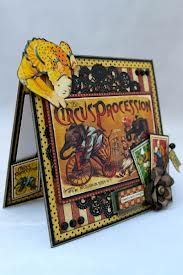 cards circus scrapbooking - Pesquisa Google