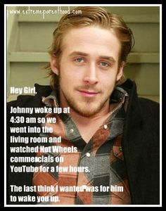 Special Needs Ryan Gosling (pinning this from bed because husband is up with the kiddies)