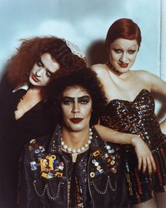 "Rocky Horror Picture Show - ""Crawling, on the planet's face, some insects, called the human race. Lost in time, and lost in space... and meaning."""