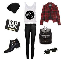 """BAD GIRL STYLE"" by #liveeverymoment91 on Polyvore"