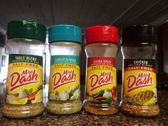 Flavor savers! This awesome foursome will save your palette & spice up your dishes. You won't even miss the salt!!