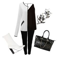 plus size by codrinabazu on Polyvore featuring polyvore fashion style River Island Boohoo Zina Rimen & Co. clothing