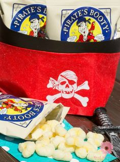 Sept. 19th is Talk Like a Pirate Day! Be cool and celebrate with your kids by hosting a  fun pirate party. Make sure to include the perfect snack, check out the yummy, baked and not fried, gluten-free Pirate's Booty #PiratesBootyParty #ad