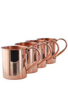 45 Inspiring Copper Rose Gold Kitchen Themes Decorations - Modul Home Design Copper Moscow Mule Mugs, Copper Mugs, Copper Dishes, Copper Kitchen Faucets, Copper Rose, Pure Copper, Copper Metal, Copper Bar, Rose Gold Kitchen