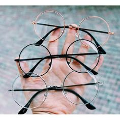 """The post """"Round Glasses Types"""" appeared first on Pink Unicorn Cute Circle Glasses, Fake Glasses, Cool Glasses, Glasses Frames, Round Lens Sunglasses, Cute Sunglasses, Sunglasses Women, Outfits Clueless, Lunette Style"""