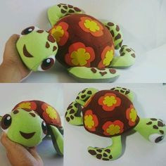 Tartaruga em feltro