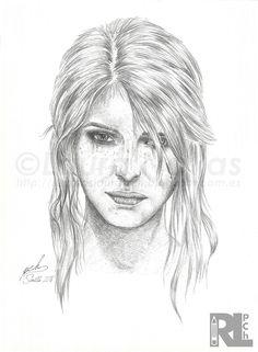 Retratos Laura pCh: CIRI - The Witcher