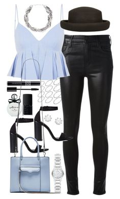 """Outfit for a night out"" by ferned ❤ liked on Polyvore featuring Kate Spade, Zara, ASOS, Citizens of Humanity, Christian Dior, Alexander Wang, Topshop, Forever New, Burberry and NARS Cosmetics"