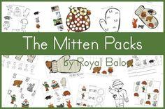 Free The Mitten Printable Packs - RoyalBaloo.com