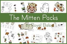 Free The Mitten Printable Packs - RoyalBaloo.com