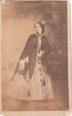"""Empress  Maria Alexandrovna of Russia,early 1860s. """"AL''"""