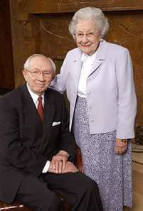 They were dedicated to each other and the Lord. They were the best of friends. So glad they are together again, enjoying eternity!
