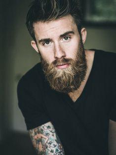 Great Beards, Awesome Beards, Beard Styles For Men, Hair And Beard Styles, Hair Styles, Moustaches, Beard Tips, Beard Ideas, Beard Designs