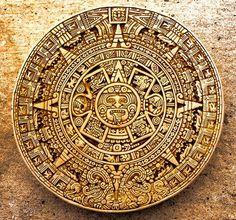 Disque solaire maya