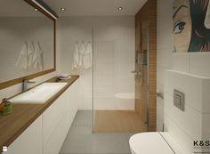 Projekt łazienka - zdjęcie od Kwadraton - Łazienka - Styl Nowoczesny - Kwadraton