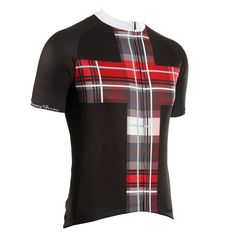 Snowhaven Black Cycling Jersey from DannyShane | Designer Cycling Apparel