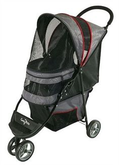 Regal™- Gray Shadow Dog Stroller