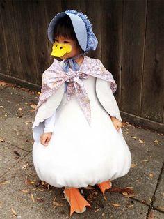 Beatrix Potter's Jemima Puddle Duck Costume #carnaval #halloween