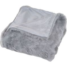 Cozy and chic, this inviting faux fur throw look stylish draped over an arm chair or adds texture at the foot of your bed.  Product:...