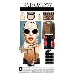 Paparazzi by mirac06 on Polyvore featuring Belstaff, Balmain, Christian Louboutin, Larsson & Jennings, BERRICLE, maurices, AERIN, NYX, Chanel and Alexander McQueen