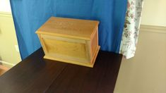 This is a double urn from local cherry with custom engraving. Custom Engraving, Stool, Cherry, Projects, Furniture, Home Decor, Log Projects, Blue Prints, Decoration Home