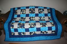 9 Patch quilt I made