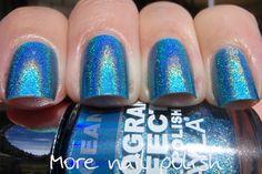 More Nail Polish: Layla Hologram Effect -   Love the pretty Holo's!