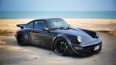 911 RWB Porsche || via 4wheelsproject