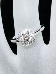 Unique Engagement Rings by Ken & Dana Design - Harlow hand view