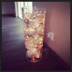 This could be in my table... But with battery fairy lights...
