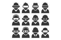 Avatar Virtual Reality Headset Icon Virtual Reality Headset Virtual Reality Avatar