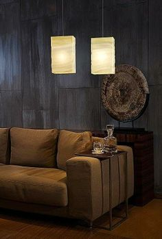This pendant lighting by Joseph Sidof adds elegant dimension to your decor. #light #decor #home