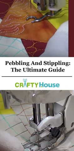 You Ever Wanted To Know About Pebbling And Sharp Stippling Free Motion Embroidery, Free Motion Quilting, Quilting Tips, Quilting Tutorials, Hand Quilting, Quilting Projects, Longarm Quilting, Quilting Board, Machine Embroidery