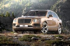 Bentley is the latest super luxury brand to entire the highly lucrative SUV market. The company teased the motoring public at the Geneva Auto Show in 2012 with an SUV concept that was more controversial then cutting edge. Bentley Suv, New Bentley, Bentley Motors, Mercedes Benz Maybach, Nissan Gt R, Range Rover Sport, Cadillac Escalade, Cadillac Cts, Dreams