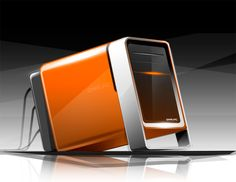 Photoshop render_Sketch of a Gaming PC by Spencer Nugent