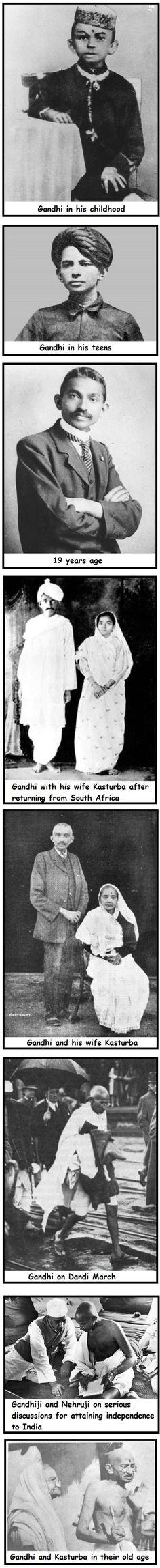 Mahatma Gandhi Photos - Child to Senior