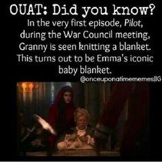 Emma's baby blanket