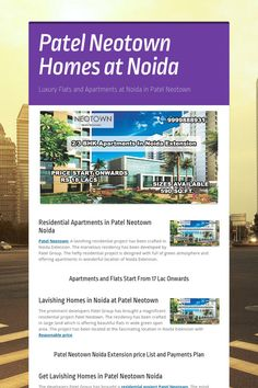 Patel  Neotown  Homes  at  Noida