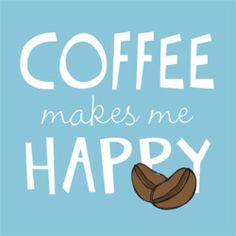 Koffie tovert een glimlach op je gezicht