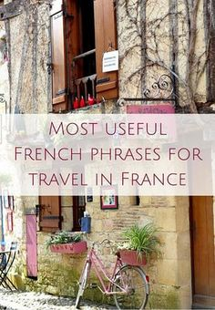 French travel phrases you must know for a trip to France (AUDIO) Oui In France Most useful French phrases for travel in France (AUDIO)IN IN, In or in may refer to: French Travel Phrases, Useful French Phrases, France 3, Visit France, Bordeaux France, How To Speak French, Learn French, French Basics, Tour Eiffel