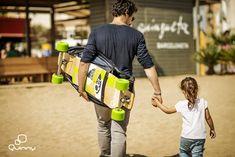 A QUINNY új deszkás babakocsija azért elég menő...!!! - Longboardstroller by QUINNY - Manzárd Café