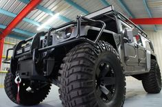 Here it is - the most inefficient vehicle on the planet Earth. This is a 1997 AM General Hummer H1 and to be quite honest, it's spectacular. Powered by a turbocharged 6.5L 395 c.i. V8 diesel, this ...