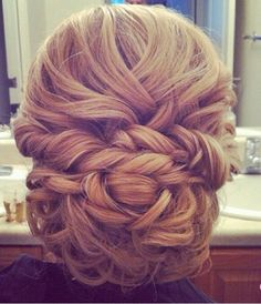 updo #wedding #hair