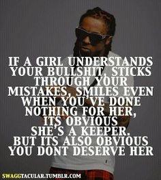 LOVE, LOVE, LOVE IT! / Lil Wayne speaks the truth