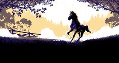 Cover art for Black Beauty by Anna Sewell — client: Great Star Media Co. Graphic Design Illustration, Illustration Art, Chapter 16, Thoroughbred Horse, My Works, Cover Art, Moose Art, Black Beauty, Horses