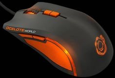 Ozone has recently launched Argon Ocelote World gaming mouse , partnership with the Ocelote expertise in gaming and high technology engineering team Ozone Gaming. With 9 programmable buttons and a 8200 DPI laser sensor, the main keys is powered by Omron switches.