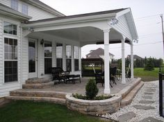 Ravishing Covered Back Porch Build Off Detached Garage Perhaps? Covered  Back Porch Ideas