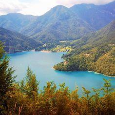 Lago di Ledro in Pieve di Ledro, Trentino - Alto Adige