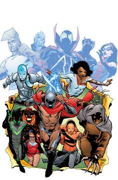 Comic Book Artists, Comic Artist, Comic Books Art, Comic Style Art, Comic Styles, Hero Games, Alien Character, Fantasy Comics, Superhero Design