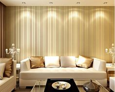 (31.08$)  Watch here - http://aik6k.worlditems.win/all/product.php?id=32796433856 - 3d wallpaper European vertical stripes sprinkle gold nonwovens wallpaper living room bedroom sofa TV background wallpaper volume
